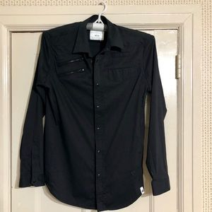 G-Star Button/Zip Shirt